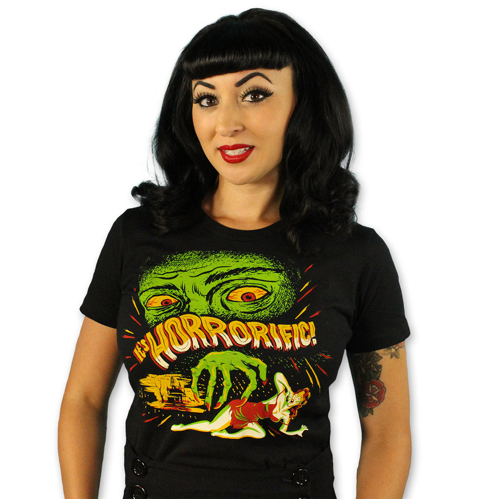 Horrorific! Ladies T-Shirt