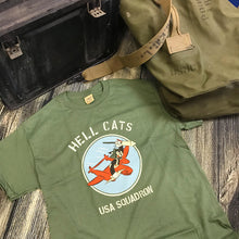 Load image into Gallery viewer, Hell Cats USA Squadron T-Shirt Men