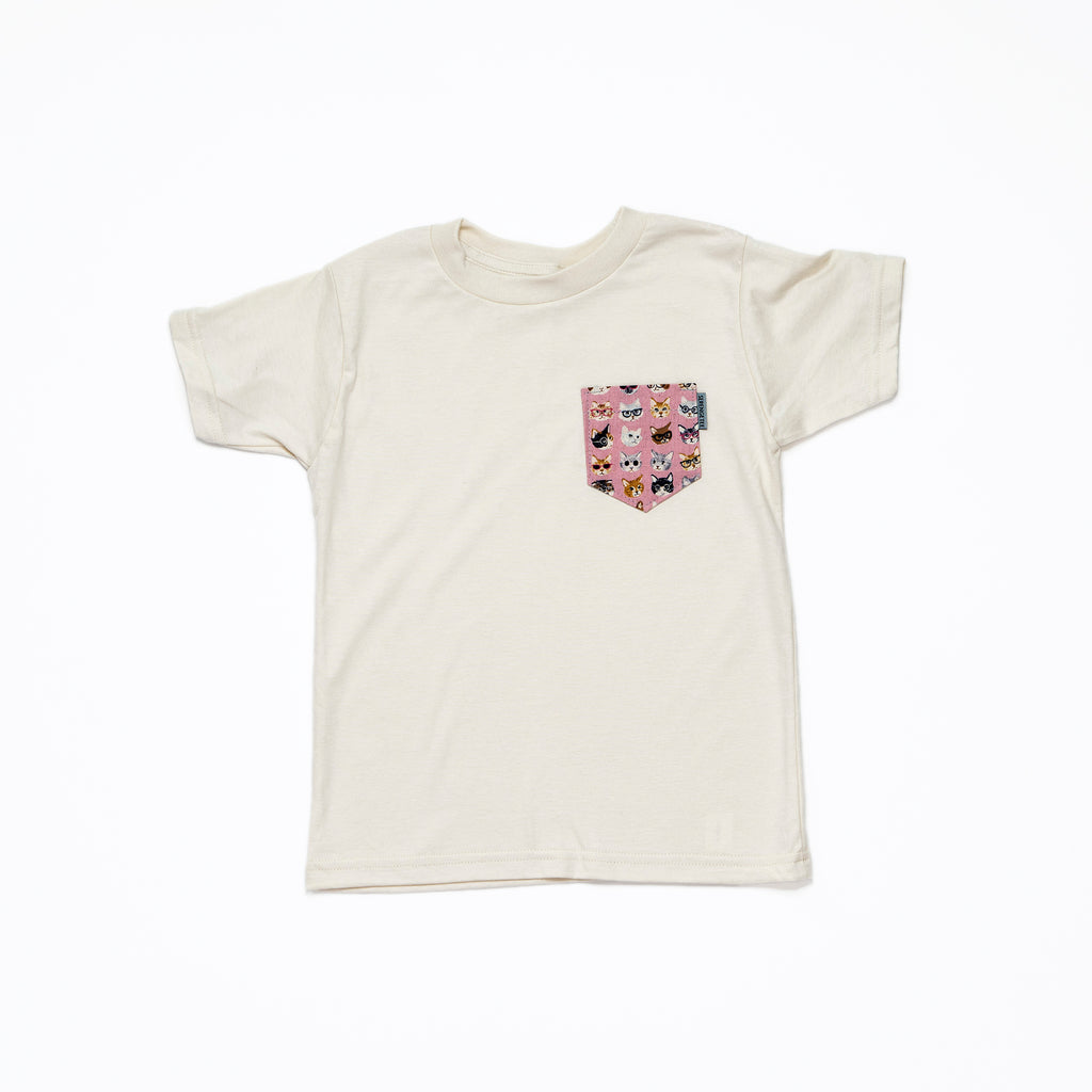 Kuki Pocket from Japan (Organic Tee, Oatmeal)