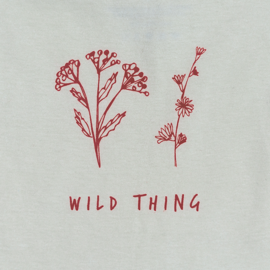 Wild Thing (Organic Tee, Oatmeal + Cranberry)
