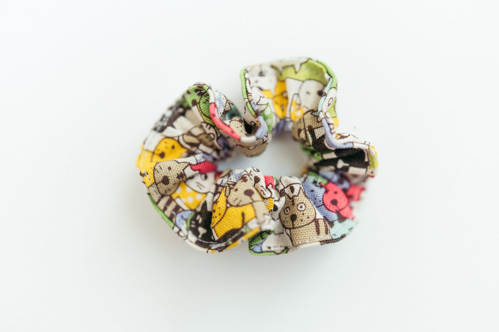Animal Scrunchie Set