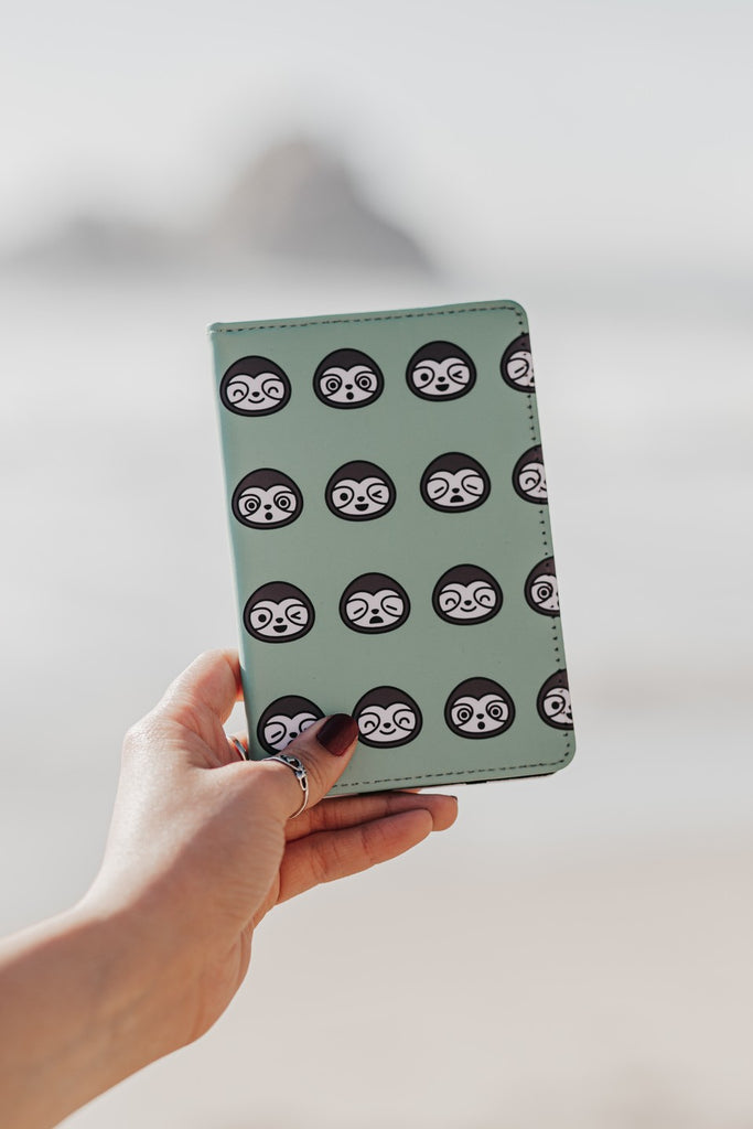 Sloth Passport Holder