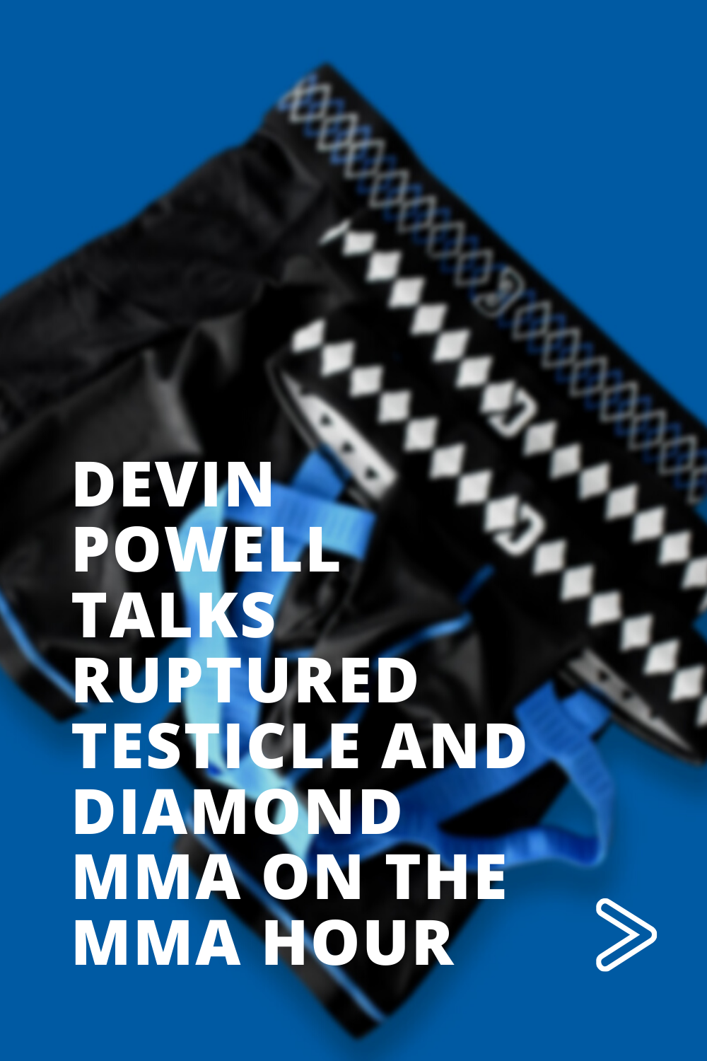 Devin Powell Talks Ruptured Testicle and Diamond MMA on The MMA Hour