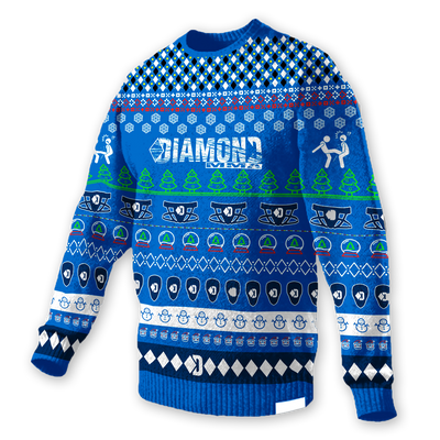 Diamond MMA Ugly Christmas Sweater