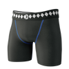 Diamond MMA Compression Shorts Angle