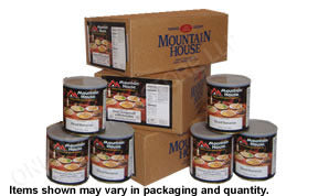 3 Month Mountain House Food Package