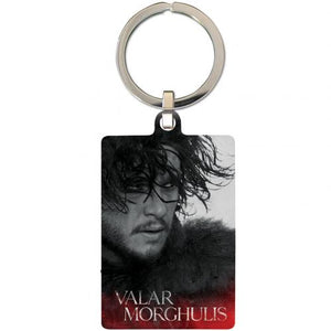 Game Of Thrones Metal Keyring Jon Snow