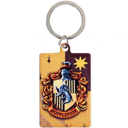 Harry Potter Metal Keyring Hufflepuff