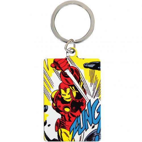 Marvel Comics Metal Keyring Iron Man