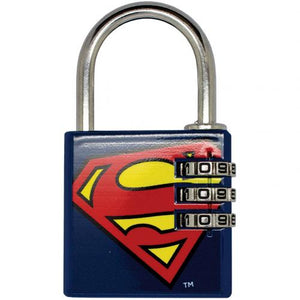 DC Comics Brass Padlock Superman