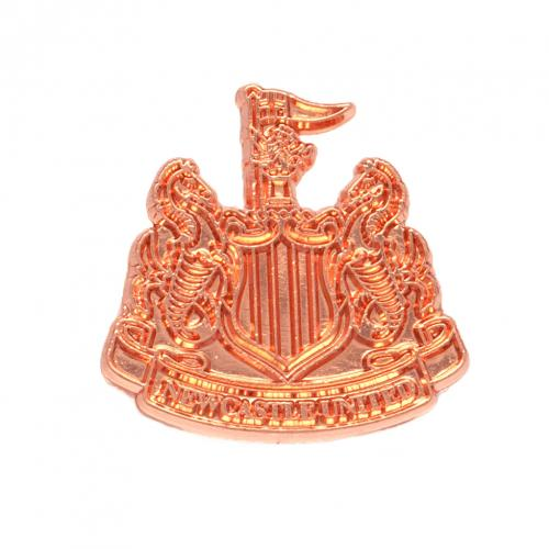 Newcastle United FC Copper Plated Badge