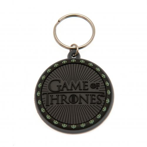 Game Of Thrones PVC Keyring Logo