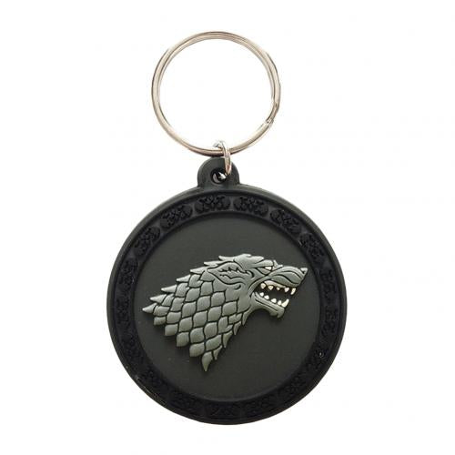 Game Of Thrones PVC Keyring Stark