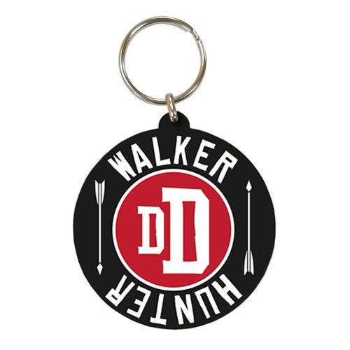 The Walking Dead PVC Keyring Hunter