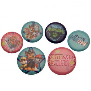 Paw Patrol Button Badge Set PK