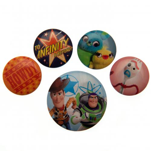 Toy Story 4 Button Badge Set