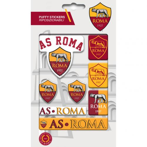 A.S. Roma Bubble Sticker Set