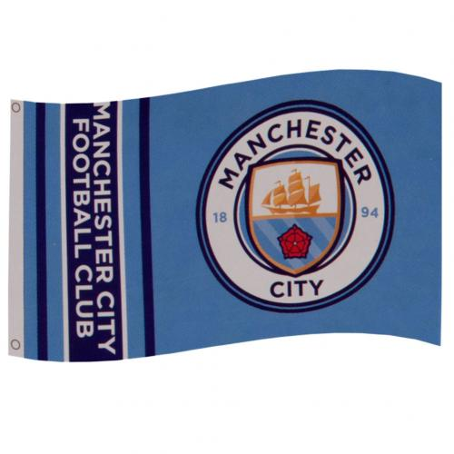Manchester City FC Flag WM