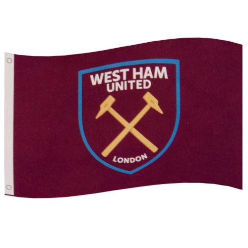 West Ham United FC Flag CC