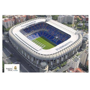 Real Madrid FC Poster Stadium 4