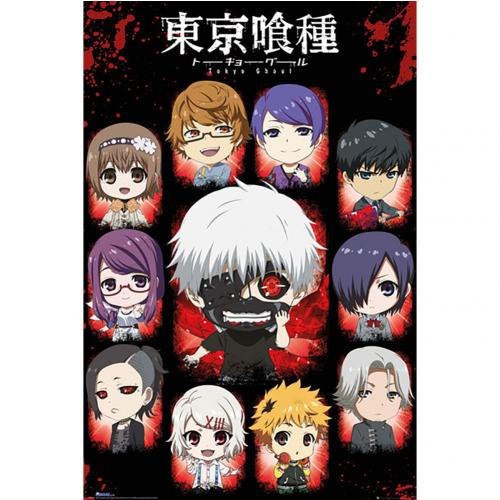 Tokyo Ghoul Poster Chibi Characters 296
