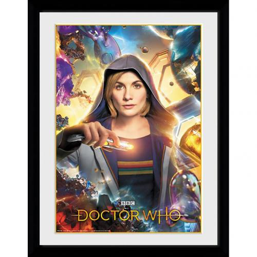 Doctor Who Picture Universe Calling 16 x 12