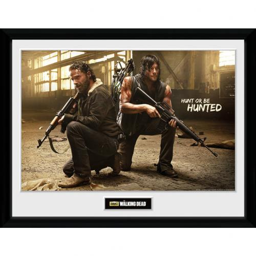 The Walking Dead Picture Hunt 16 x 12