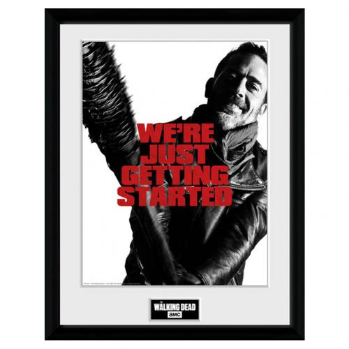The Walking Dead Picture Negan 16 x 12