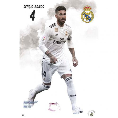 Real Madrid FC Poster Ramos 42