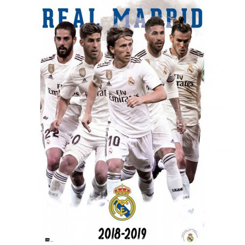Real Madrid FC Poster Players 61