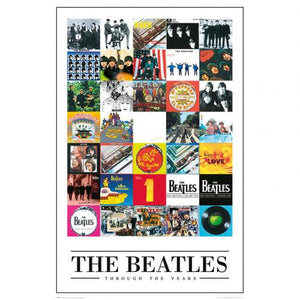 The Beatles Poster Through The Year 234