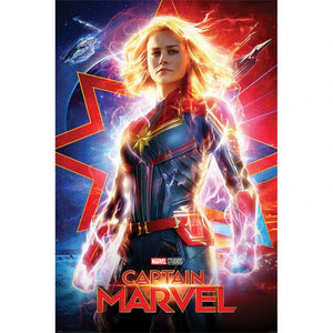 Captain Marvel Poster 216