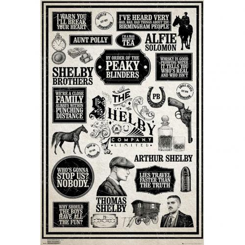 Peaky Blinders Poster Infographic 195