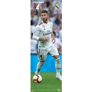 Real Madrid FC Door Poster Ramos 318