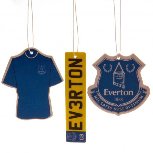 Everton FC 3pk Air Freshener