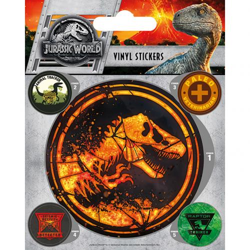 Jurassic World Fallen Kingdom Stickers