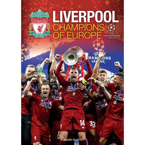 Liverpool FC Champions of Europe Annual