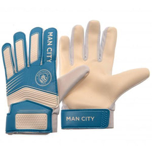 Manchester City FC Goalkeeper Gloves Yths