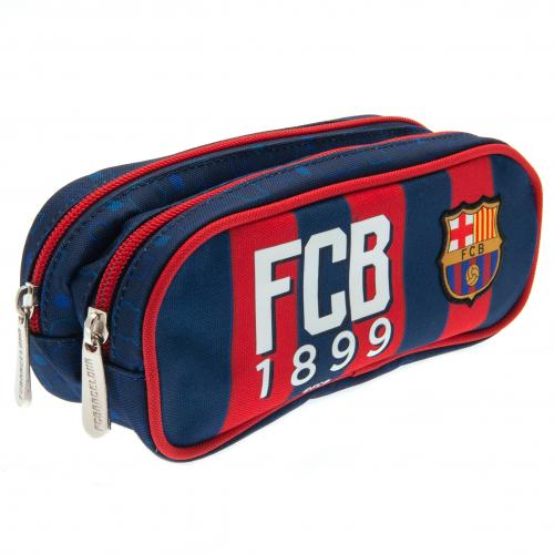 FC Barcelona Double Zip Pencil Case