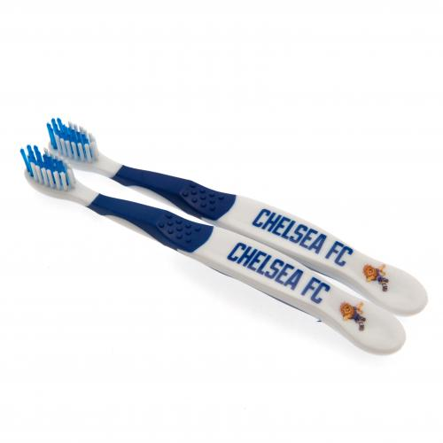 Chelsea FC Twin Pack Toothbrush Junior