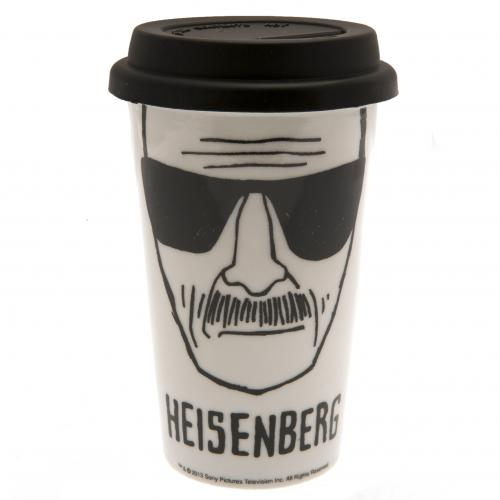 Breaking Bad Ceramic Travel Mug Heisenberg