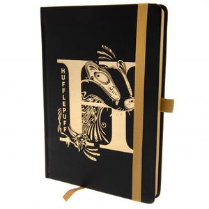 Harry Potter Premium Foil Notebook Hufflepuff