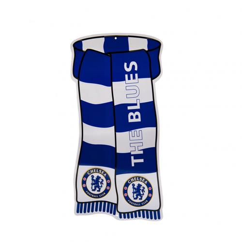 Chelsea FC Show Your Colours Window Sign