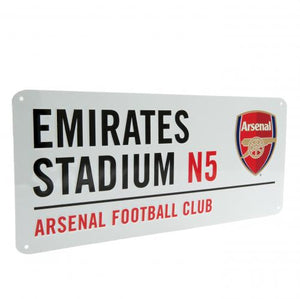 Arsenal FC Street Sign