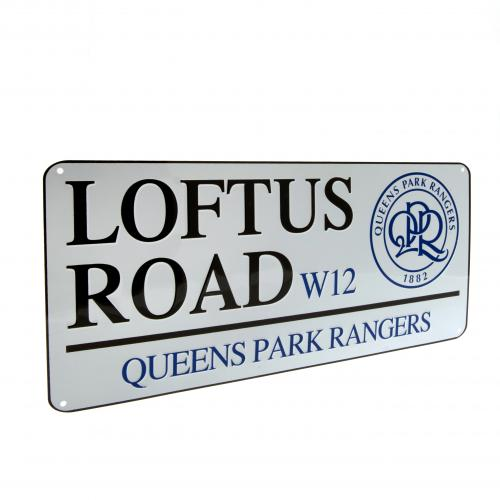 Queens Park Rangers FC Street Sign