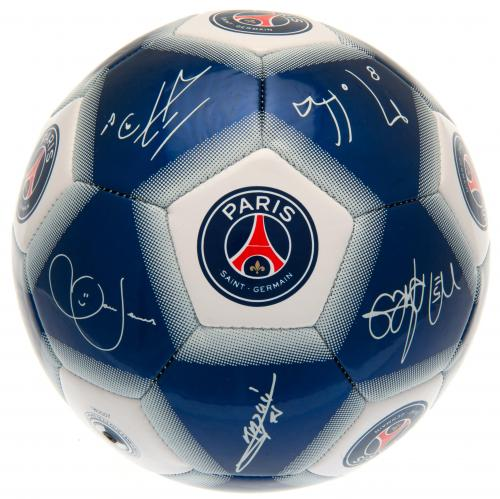 Paris Saint Germain FC Football Signature WT
