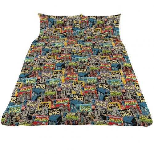 Doctor Who Double Duvet Set