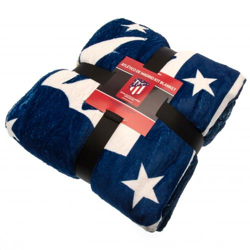 Atletico Madrid FC Sherpa Fleece Blanket