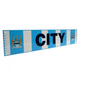 Manchester City FC Bar Scarf Sign