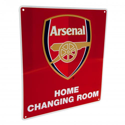 Arsenal F.C. Home Changing Room Sign